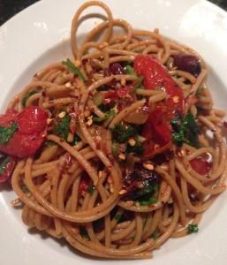 roast tomato spaghetti